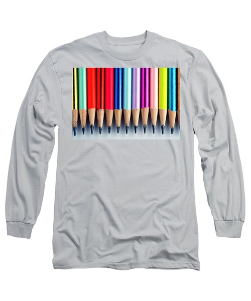 Pencils Long Sleeve T-Shirt