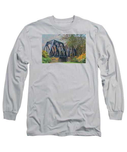 Pennsylvania Bridge Long Sleeve T-Shirt by Cindy Manero