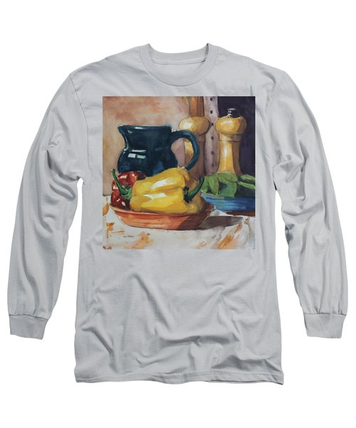 Peppers And Jug Long Sleeve T-Shirt