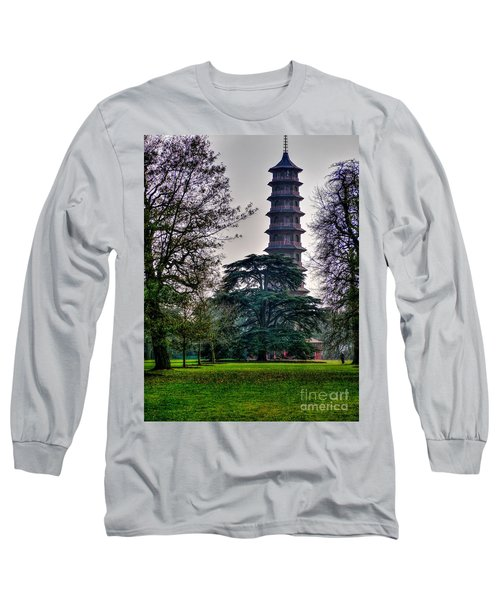 Pergoda Kew Gardens Long Sleeve T-Shirt