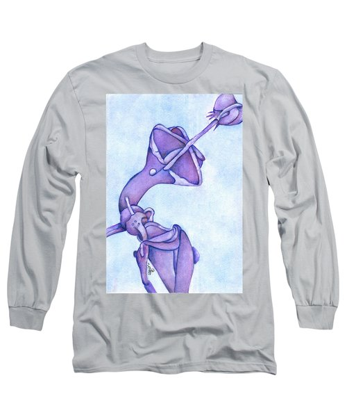 Distincta In Perpetuity Long Sleeve T-Shirt by Versel Reid