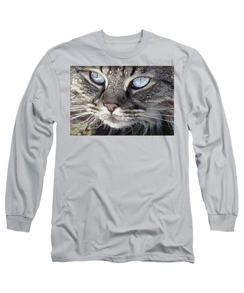 Perry The Persian Cat Long Sleeve T-Shirt