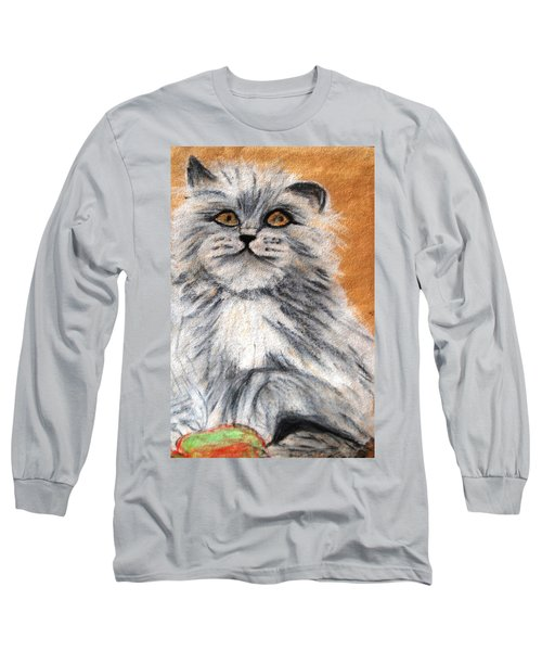 Persian Cat Long Sleeve T-Shirt
