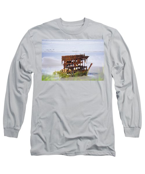 Peter Iredale Long Sleeve T-Shirt by Angi Parks