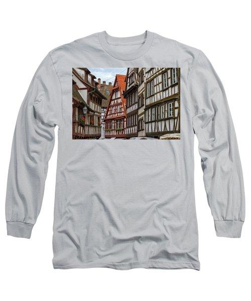Petite France Houses, Strasbourg Long Sleeve T-Shirt