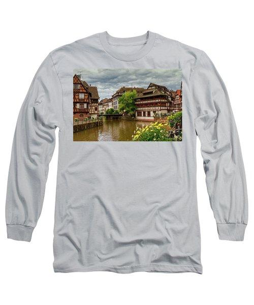 Petite France, Strasbourg Long Sleeve T-Shirt by Elenarts - Elena Duvernay photo