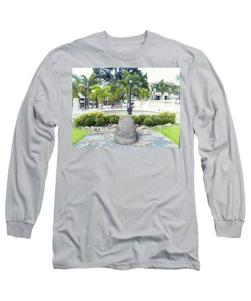 Petroglifo Boricua Long Sleeve T-Shirt