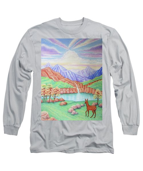 Phantom Valley Long Sleeve T-Shirt by Tracy Dennison