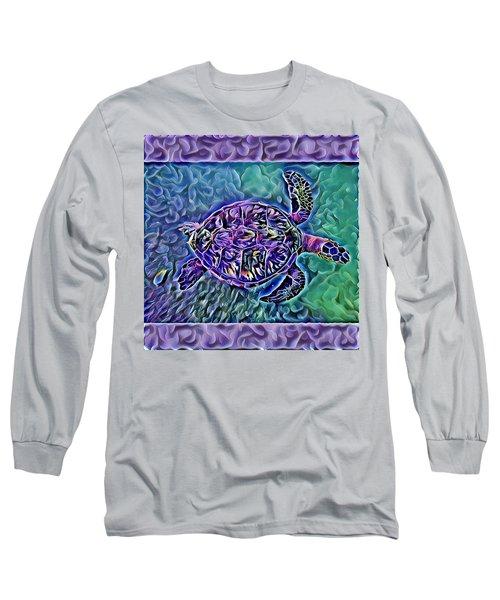 Phillis The Turtle Long Sleeve T-Shirt