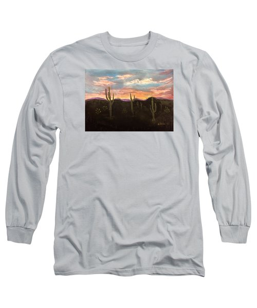 Phoenix Az Sunset Long Sleeve T-Shirt