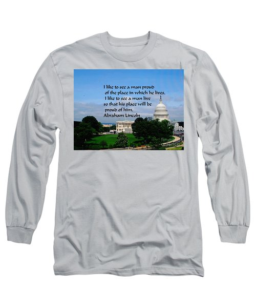 Long Sleeve T-Shirt featuring the photograph Photography by Gary Wonning