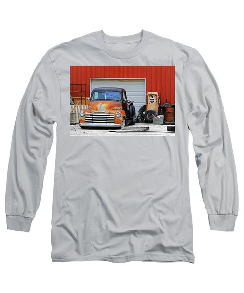 Long Sleeve T-Shirt featuring the photograph Pickup Chevrolet by Christopher McKenzie