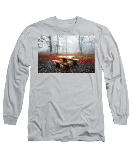 Picnic Of Fog Long Sleeve T-Shirt
