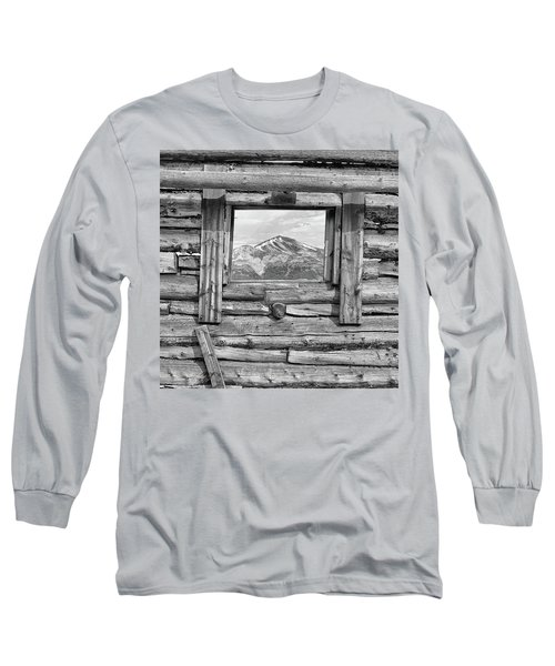 Long Sleeve T-Shirt featuring the photograph Picture Window #2 by Eric Glaser