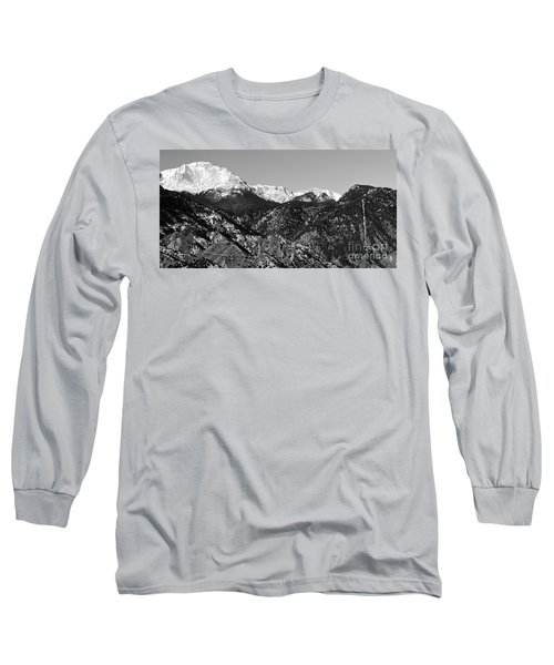 Pikes Peak And Incline 36 By 18 Long Sleeve T-Shirt