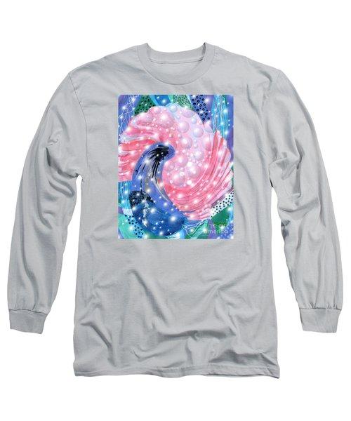 Pink Shell Fantasia Long Sleeve T-Shirt