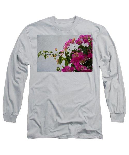 Pinks Portrait Long Sleeve T-Shirt