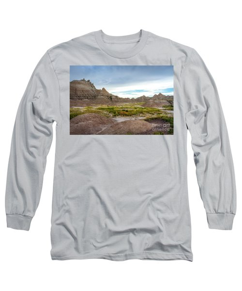 Pinnacles Of The Badlands Long Sleeve T-Shirt