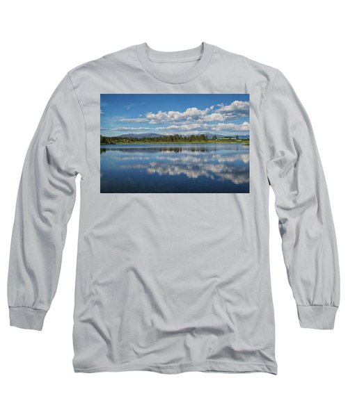 Pinon Lake Reflections Long Sleeve T-Shirt