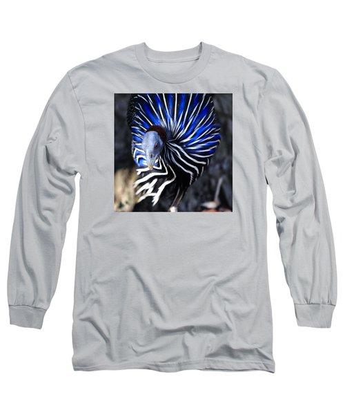 Pintada Vulturina Long Sleeve T-Shirt by Goyo Ambrosio