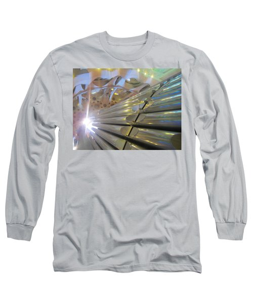 Long Sleeve T-Shirt featuring the photograph Pipe Organ Of La Sagrada by Christin Brodie