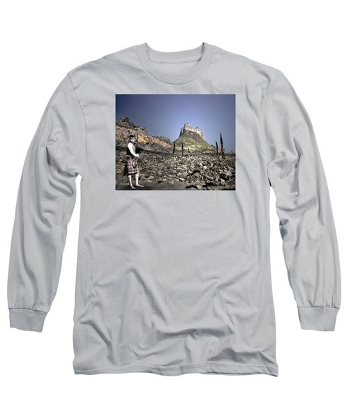 Piper Plays To The Past Long Sleeve T-Shirt