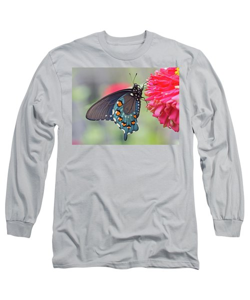 Pipevine Swallowtail Butterfly Long Sleeve T-Shirt