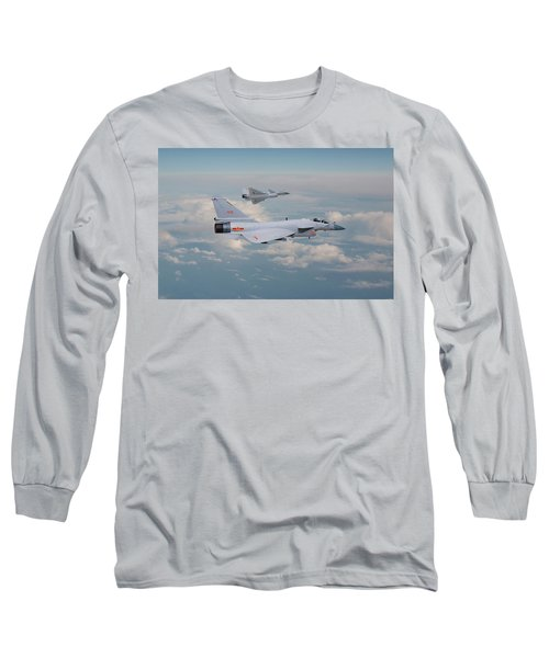 Long Sleeve T-Shirt featuring the photograph Plaaf J10 - Vigorous Dragon by Pat Speirs