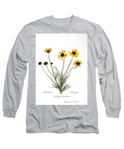 Plains Coreopsis Long Sleeve T-Shirt