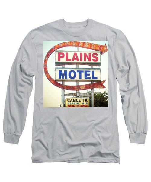 Plains Motel Long Sleeve T-Shirt
