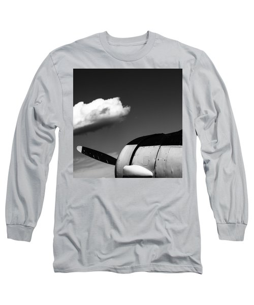 Plane Portrait 3 Long Sleeve T-Shirt by Ryan Weddle