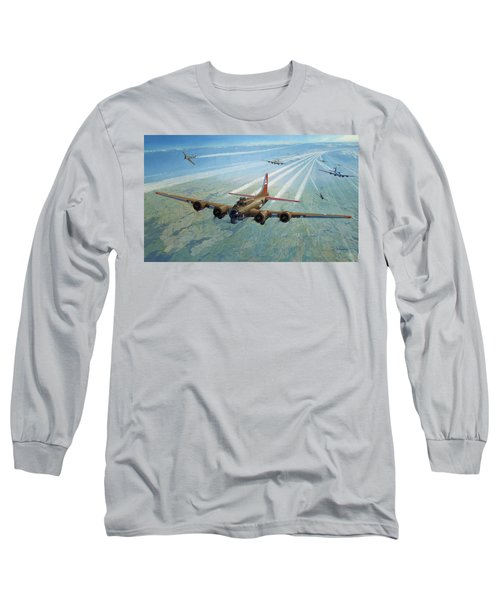 Long Sleeve T-Shirt featuring the photograph Plane by Test