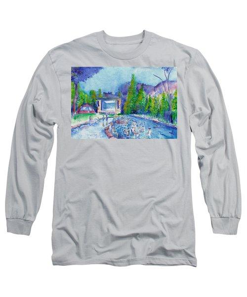 Planet Bluegrass Lyons Colorado Long Sleeve T-Shirt
