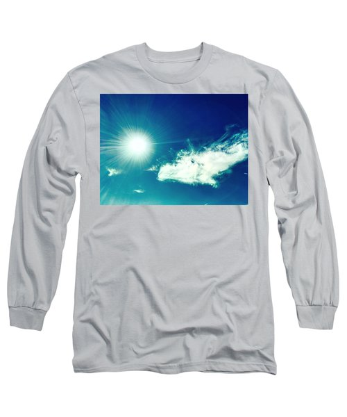 Platinum Rays And Angelic Cloud Bless The Prairie Long Sleeve T-Shirt