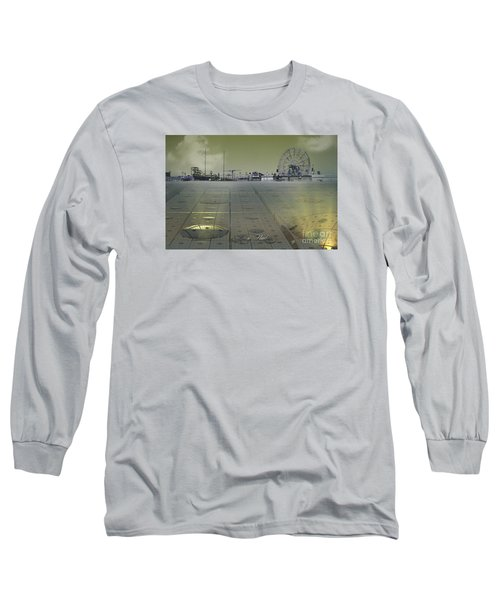Long Sleeve T-Shirt featuring the digital art Playground On Planet X by Melissa Messick