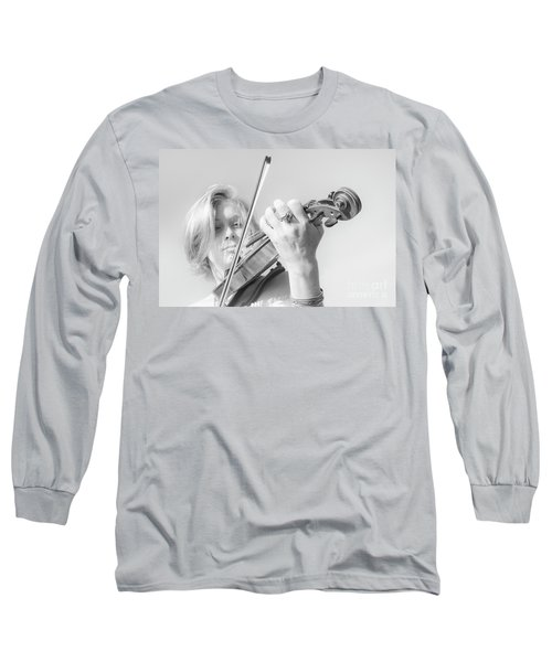 Long Sleeve T-Shirt featuring the photograph Playing Me Softly by Bob Christopher