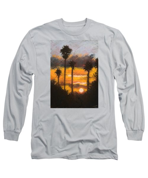 Playing With Fire, San Diego Long Sleeve T-Shirt