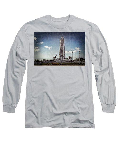 Plaza De La Revolucion Long Sleeve T-Shirt