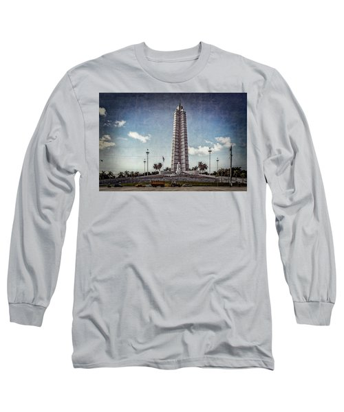 Plaza De La Revolucion Long Sleeve T-Shirt