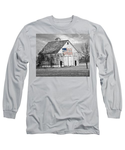 Pledge Of Allegiance Crib Long Sleeve T-Shirt
