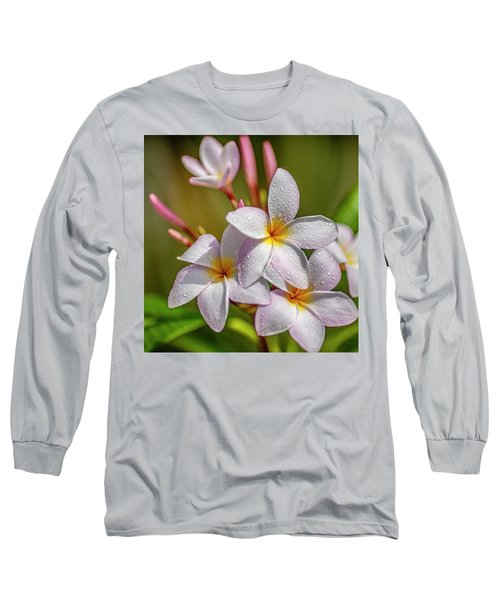 Plumeria 2 Long Sleeve T-Shirt