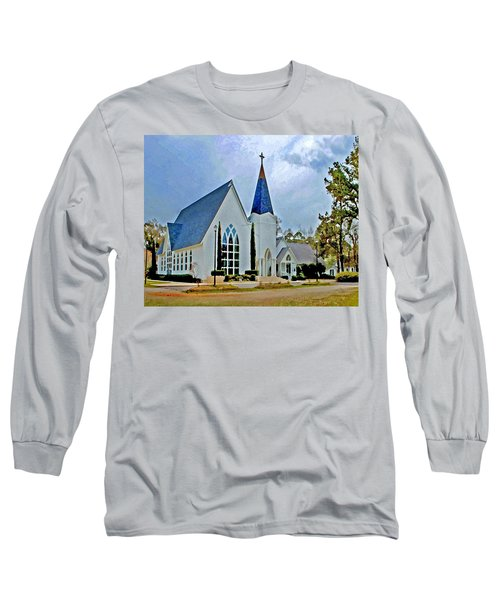 Point Clear Alabama St. Francis Church Long Sleeve T-Shirt