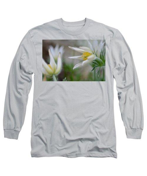 Points Long Sleeve T-Shirt by Janet Rockburn