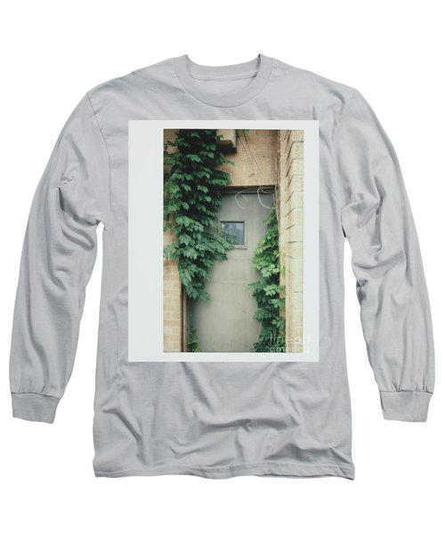 Polaroid Image-ivy In The Doorway Long Sleeve T-Shirt