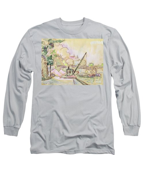 Pont Du Louvre Long Sleeve T-Shirt