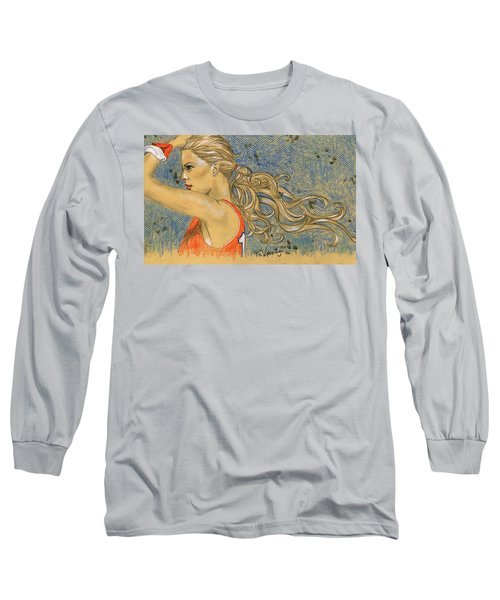 Ponytail Run Long Sleeve T-Shirt by P J Lewis