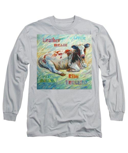 Poor Miss Bessie Long Sleeve T-Shirt
