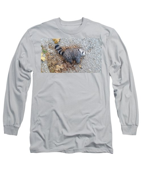 Poor Trash Panda Long Sleeve T-Shirt