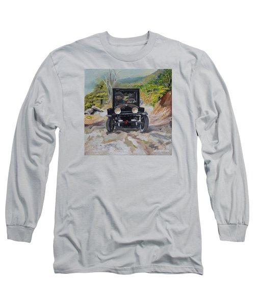 Popcorn Sutton - Looking For Likker Long Sleeve T-Shirt