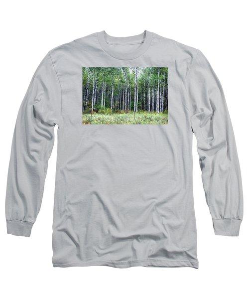 Popple Trees Long Sleeve T-Shirt